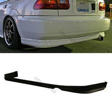 Black Polyurethane Rear Bumper Lip Spoiler Bodykit For 92-95 Honda Civic 2Dr 4Dr