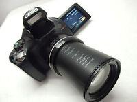 :) CANON POWERSHOT SX40 HS 12.1MP 35X OPTICAL  Digital Camera VariAngle LCD