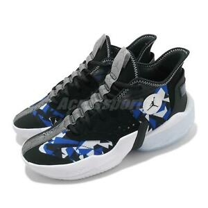 Nike Jordan React Elevation PF Black Blue White Men Basketball Shoes CK6617-004