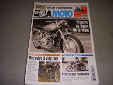 LA VIE DE LA MOTO LVM 401 09.05 HISTOIRE SALON MOTO SIDE CHANG JIANG BSA C11 G