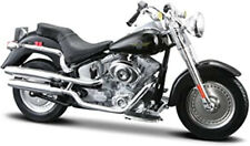 Maisto 1:18 Harley-Davidson Series 29   2004 FLSTFI Fat Boy  NRFB  black  VHTF
