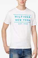 Tommy Hilfiger Men's Graphic Print T-Shirt, White, Size XXL, MSRP $34