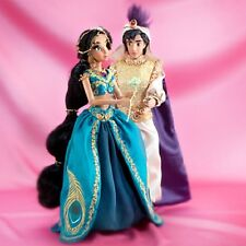 DISNEY JASMINE AND ALADDIN FAIRYTALE DESIGNER DOLL SET--NEW