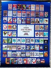 2014 Chicago Cubs Baseball - 100th WRIGLEY FIELD - Vintage PROGRAM Ticket POSTER
