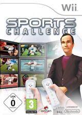 Nintendo Wii Spiel Sports Challenge - Quiz  NEUWARE