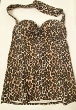 Victoria Secret Miraculous Bra Top Animal Print 36 B Leopard Pattern