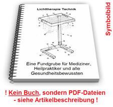 Lichttherapiegerät selbst bauen Lichttherapie Lampe Phototherapie Technik Patent