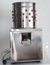 Wachtel- / Taubenrupfmaschine, Geflügelrupfmaschine, Nassrupfmaschine ab 30.08.