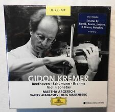 CD-Box - Gidon Kremer Martha Argerich - Violin Sonatas - Collectors Ed. 2003 (26