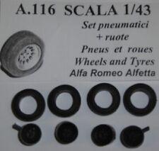 GTA ALFETTA 33 dal 1966  TRON  TPF03 RUOTE 1//43 ALFA ROMEO GTV