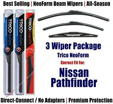 3pk Wipers Front/Rear NeoForm fit 2004 Nissan Pathfinder (Armada) 16240/220/12B