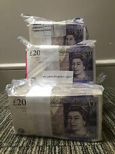 One Single Crisp £20 Note Random Serial Number Last Of The Paper Money Cleland