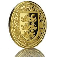 2018 1 oz Royal Arms .9999 Gold Coin BU 1 Troy Oz Gold #A469