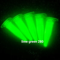 LG280L 100g Lime GRÜN Pigment Nachleuch leucht Leuchtfarbe neon UV Licht Effekt