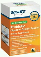 Equate Probiotic Digestive System Support Capsules, 42 count.   Exp Date 11/17+