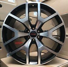 28' inch Gmc Sierra Denali Wheels Tires Black Rims Silverado Avalanche Suburban
