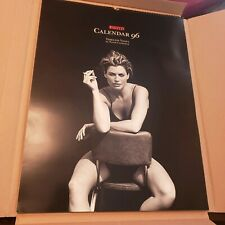 Vintage Pirelli Tire Calendar 1996  17 x 24 Nude Peter Lindbergh Timeless Views