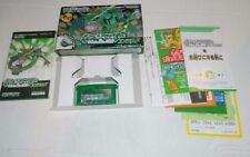 Pokemon Emerald Version  (Nintendo Game Boy Advance) GBA Japan *COMPLETE IN BOX*