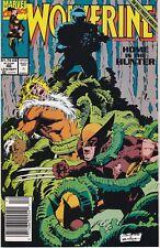 WOLVERINE 46 Vol 2 Marvel VF/N/M News Stand Ed Sabretooth Cover Story