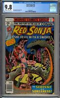 Red Sonja 8 CGC Graded 9.8 NM/MT Marvel Comics 1978