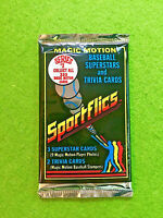1986 SPORTFLICS BASEBALL PACK BARRY BONDS ROOKIE CARD BO JACKSON RC JOSE CANSECO