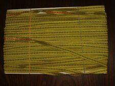 Höhe ca gold Tresse//Band//Borte 1cm 50m auf einer Pappe Goldtresse 0,40€//m