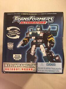 2003 Transformers Robots in Disguise Alternators Jeep Wrangler Autobot Hound