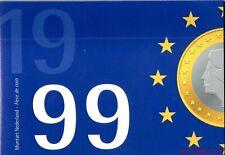 NEDERLAND FDC JAARSET GULDENMUNTEN 1999