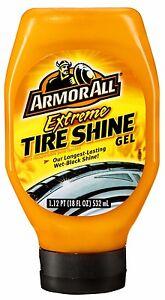 Armor All EXTREME TIRE SHINE GEL Control Applicator HIGH QUALITY Wet Black Shine