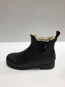 Tretorn Lina Womens Rain Boots Black Rubber US6 M
