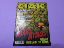 CIAK n.2 del 1997 CON SCHEDE FILM In copertina MARS ATTACKS di Tim Burton