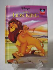 Disney's THE LION KING 1994 Hardcover First American Edition
