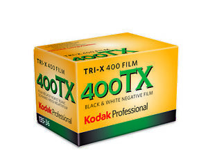10x Kodak Professional Tri-X 400 B&W Camera Film (35mm Roll Film, 36 exp)