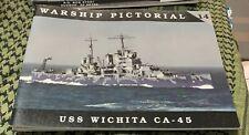 USS WICHITA CA-45 WARSHIP PICTORIAL #14 CLASSIC WARSHIPS PUB RARE OOP
