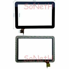 "Vetro Touch screen Digitizer 10,1"" Mediacom Smartpad 101S2 M-MP101S2 Tablet Nero"