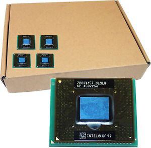 Lot-27 INTEL PIII-450MHz 100 UPGA2 Portable CPU SL3LG-L27 100Mhz Bus Vitesse