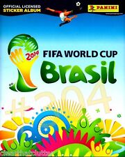 BRASIL 2014 World Cup - PANINI FIFA Official Licensed Sticker Album NEW & Unused