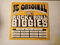 15 Original Rock N' Roll Biggies Vol.1 - Various Artists - Vinyl LP 1976
