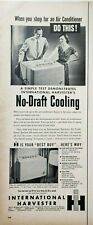 Vintage Ephemera Air Conditioning Print Ads Art Decor