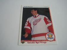 1990/91 UPPER DECK HOCKEY KEITH PRIMEAU CARD #354***DETOIT RED WINGS***