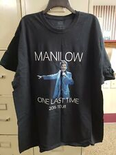 """Barry Manilow """"One Last Time"""" 2016 Concert T-Shirt Size 3Xl - Never Worn!"""