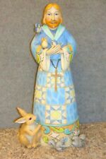 Jim Shore St. Francis 21 Inch Outdoor Living 2011 Collection Figurine