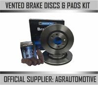 OEM SPEC FRONT DISCS AND PADS 256mm FOR AUDI A1 1.4 TURBO 140 BHP 2012-