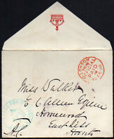 GREAT BRITAIN: (15108) LONDON OFFICIAL PAID postmark/cover