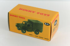 DINKY Reproduction Box 641 1-Ton Army Cargo Truck Repro Military