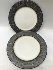 Mikasa Gourmet Basics Metropolitan Metallic Set Of 4 Salad Plates
