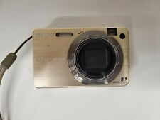 Sony Cyber-shot DSC-W150 8.1MP Digital Camera - Gold