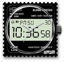 S.T.A.M.P.S.- Stamps - Uhr-Watch -  Digi Time - ♦️