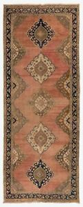 4.8x12 Ft Vintage Central Anatolian Village Runner Rug