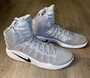 Nike Hyperdunk 2016 Basketball Shoes Men's Sz 17 Gray White 856483-331